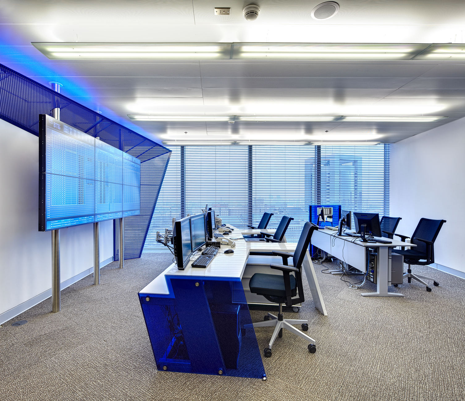 Dispatch Center Of Bank 171 Vtb 187 Moscow Arch Group